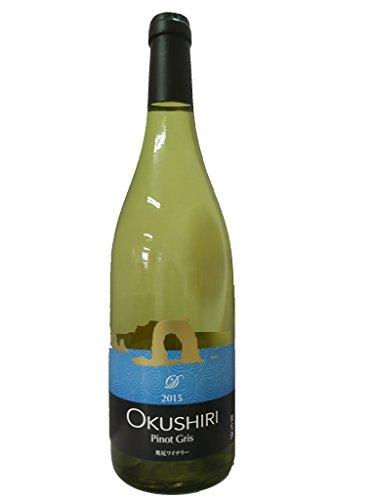 奥尻ワイン ピノグリ 白 2015 750ML