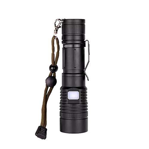 YUTRD ZCJUX 80000lm Flashlight de Mano Duradera Torch Telescopic Torch Durable 18650 Batería Linterna Linterna Linterna Linterna