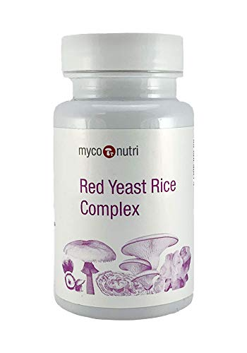 Myconutri Red Yeast Rice Complex Capsules - Hong Qu Mi - (60 Veg caps)