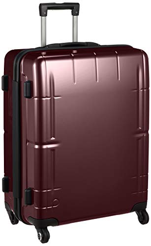 [プロテカ] スーツケース 日本製 スタリアVs ストッパー付 ベアロンホイール 76L 60 cm 4.3kg ワイン