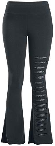 Gothicana by EMP Take Comfort Frauen Leggings schwarz L 95% Baumwolle, 5% Elasthan Basics, Gothic