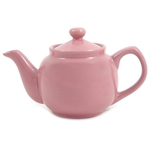 Pink Rose Classic 2 Cup Ceramic Teapot