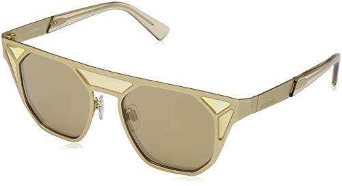 Diesel Sonnenbrille DL0249 4832G Rechteckig Sonnenbrille 48, Gold