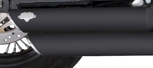 "Vance & Hines redondo doble barra 3\""Slip-On silenciadores para Harley Davidson 2008–2013Fxdf y 2010–2012FXDWG Dyna modelos"