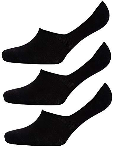 Tokyo La&ry Damen Socken, 3er-Pack, sortiert Gr. 36/40 EU, Schwarz