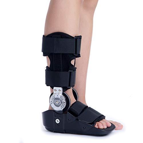 Soporte para bota para fractura de tobillo de pie, transpirable, alto, soportes ajustables para pies, inmovilizador ortopédico de bota protectora para caminar, para lesiones de ligamento tendinoso,