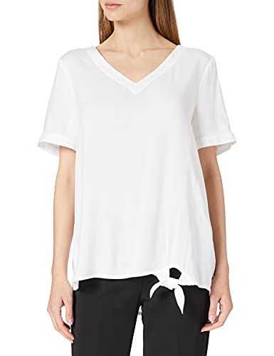 Cecil Damen 342624 Bluse, Pure Off White, L