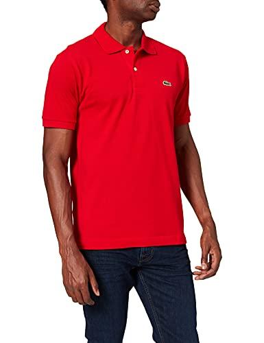 Lacoste L1212 T-Shirt Polo, Uomo, Rosso, XL