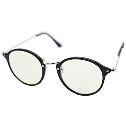 (エイトトウキョウ)eight tokyo 老眼鏡 おしゃれ メンズ レディース 兼用 ブルーライトカット かわいい 1.5 UVカット シニアグラス リーディンググラス[ 鯖江メーカー企画 ]ブラック/ライトグリーン RD6100-1+1.5