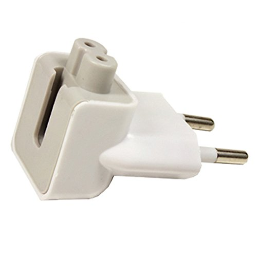 Smartfox AC-adapter EU stekker 2-pins power plug voor Apple MacBook Pro Air iPad netadapter oplader stopcontact opzetstuk