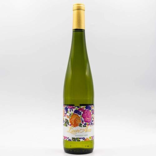 LaurAna Verdejo Ecológico - Vino Blanco Orgánico - Vino de la Tierra de Castilla- 1 botella x 750 ml