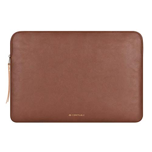 Comfyable Tablet Hülle für 11 Zoll iPad Pro M1 2021 2020 / 10.5-10.9 Zoll iPad Air 2020-2019 & Smart/Magic Keyboard mit Stifthalter - PU Leder Tasche Wasserdicht Slim Schutzhülle Hülle - Braun