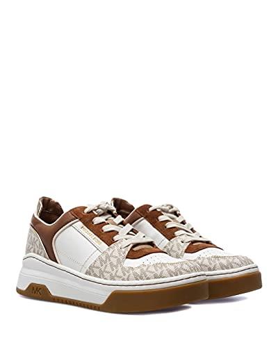 Zapatos Mujeres Sneakers MICHAEL KORS Lexi Opt W Multi Logo Cuero
