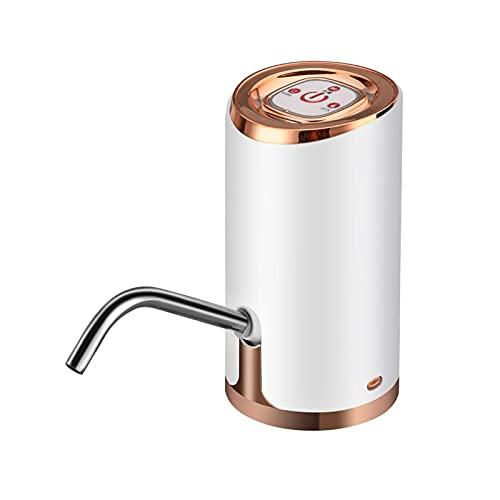 GDYJP Bomba de Botella de Agua Potable automática eléctrica, USB Dispensador Recargable, Inteligente, Bomba de Agua eléctrica, Oficina Interior al Aire Libre (Color : C)