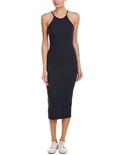 French Connection Women's Tommy Rib Dress, Nocturnal, 2