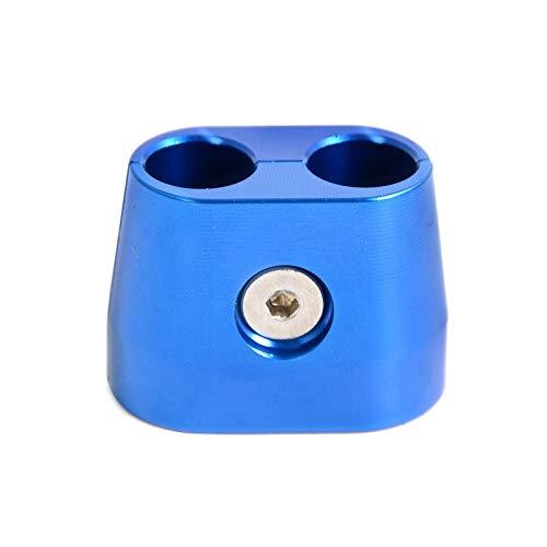 XIUFANG Gaszug-Schutz-Schutz-Abdeckung gepasst for KTM SX SXF EXC XC XCF XCW XCFW Fit for Husqvarna Suzuki Fit for Yamaha 250 350 450 525 530 625 (Color : Blue)