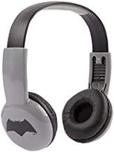 Batman HP2-14392 Kid Safe On-Ear Headphones W/Volume Limiter by Sakar, Adjustable Headband and Comfortable Ear Cups, Volume Limiting Technology, Audio, Black, Gray