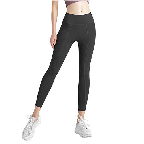 Baratos Mujer Ropa de Deporte,Pantalones Elásticos Yoga,para Anticeluliticos,Deporte,Running,Yoga y Gym,Adelgazantes,Training,Fitness,Estiramiento,Pilates,Color sólido