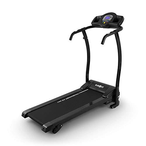 Klarfit Pacemaker X3 Caminadora Máquina de Caminar 1,5 Hp Velocidad. 0,8-12 Km/H Computadora de Entrenamiento Pantalla LCD Ángulo de Inclinación. 3%, 5% Plegable Negro-Gris