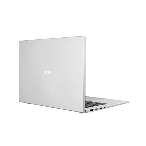 Product Image 4: LG Gram, Thin & Light Laptop – 14″ IPS WUXGA (1920 x 1200) 11th Gen Intel Core i7 1165G7 CPU, Intel Iris Xe Graphics, 16GB RAM, 512GB NVMe SSD, 22 Hour Battery – 14Z90P-K.AAS8U1 -Silver (2021)
