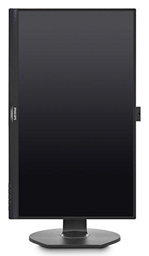 Philips 272B7QPTKEB - 27 Zoll QHD Monitor, Webcam, höhenverstellbar (2560x1440, 60 Hz, VGA, HDMI, DisplayPort, USB Hub) schwarz