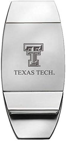 LXG Texas Tech University - Two-Toned Money Clip
