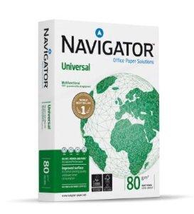 Navigator FSC - Papel universal (A4, 80 g/m², 1000 hojas)