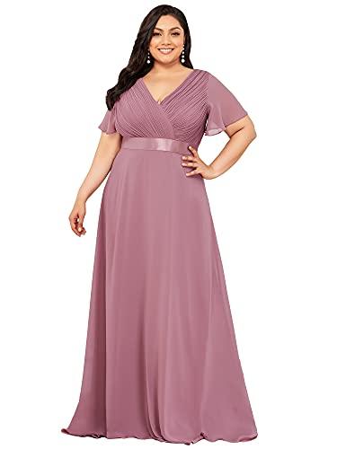 Ever-Pretty Vestido de Fiesta Noche Largo para Mujer...