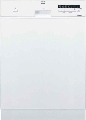 AEG 911956602 Geschirrspüler Unterbau/AAA / 1,05 kWh/Jahr / 12 MGD / 12 L/Edelstahlblende / 44 dB
