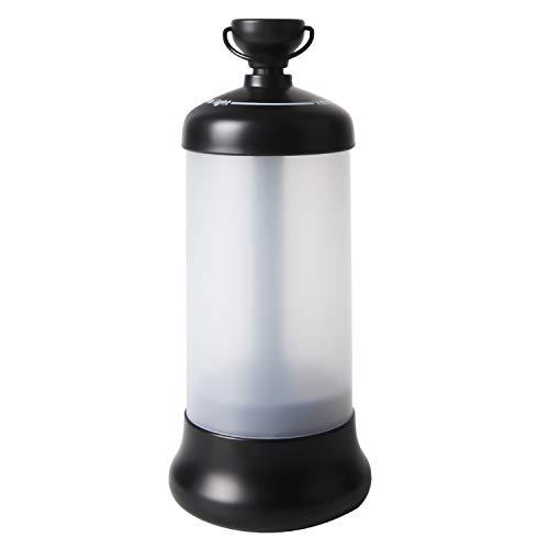 Oplaadbare led-lantaarn, met magnetische sokkel, sterke campinglamp, 4 modi voor kamperen, knutselen, noodgevallen, garage, kelder, SOS, enz.