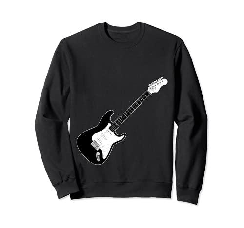 Guitarra Strat Player Hard Rock Heavy Metal Banda de música Sudadera