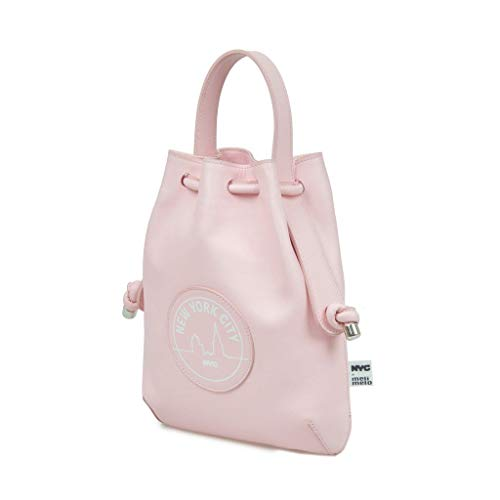 Meli Melo NYC Briony Pink Mini Backpack
