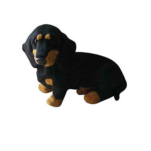 XIHUANNI Flopsie Dachshund - Juguete suave para perro de peluche, muñeca de peluche, bonito juguete de simulación para cachorro, regalo para niños, niñas, amigos, adultos, cumpleaños