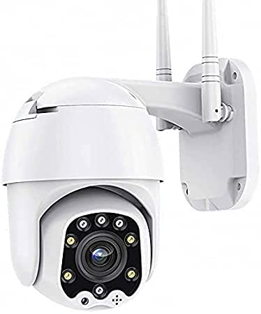 Maizic Smarthome Ptz WiFi Advanced V380 5mp Wireless IP Camera Outdoor CCTV Ip66 Waterproof Pan Tilt Home Surveillance with Video Audio Recording Motion Detection Colour Night Vision