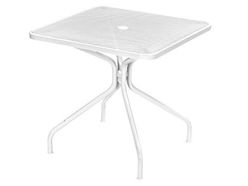 Emu Cambi table Art. 801 cm. 80 x 80 Couleur Blanc Mat cod. 23