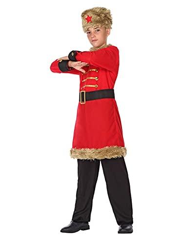 DISBACANAL Disfraz de Ruso para niño - 10-12 añ
