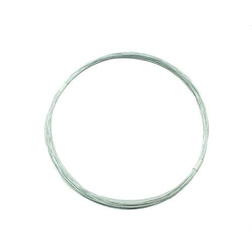 ハイロジック:ユニクロ針金 線径約0.28ミリ×約30m #30 入数1巻 00021776 ×5セット