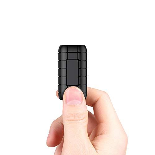 LYB 16G Mini Grabadora Activada por Voz, Grabadora Espia Digital Grabador de Audio Magnético con 380 Horas de Grabación, Dispositivo de Grabación HD, Tarjeta con TF Compatible Expansión de 128 GB