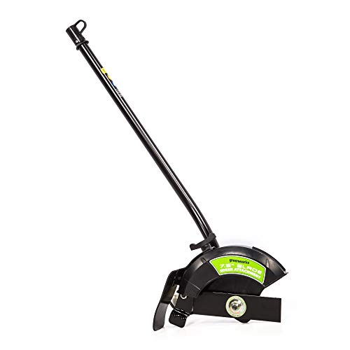 "Greenworks EDA75 7.5"" Edger Attachment, Black and Green (Renewed)"