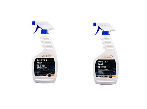 Suministros de limpieza de automóviles, suministros de belleza para automóviles Detergente para el polvo de automóviles de cera líquida, adecuado para limpieza y detalles de automóviles (2pcs)