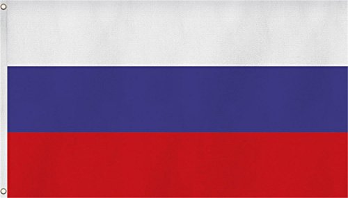 normani XXL Flagge Fahne, genäht in 150 x 250 oder 300 x 500 cm Farbe Russland Größe 150x250