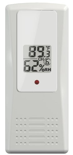 Ambient Weather F007TH Wireless Thermo-Hygrometer for WS-07 Weather Stations