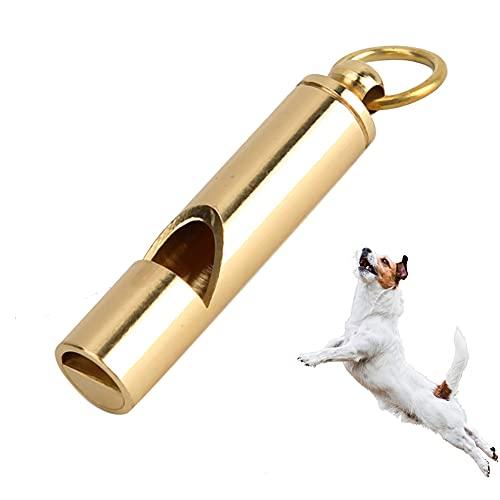 Pssopp - Fischietto per addestramento di cani, uccelli, in metallo, in lega di alluminio, ad ultrasuoni, per addestramento di cani e uccelli, per obbedienza e richiamo