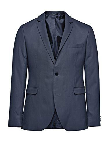 Jack & Jones Premium Jjroy Blazer Navy Noos - Veste de Costume - Homme, Bleu (Dark Navy Detail:slim Fit), 50