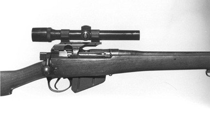 PM Lee Enfield # 4 and #5 Scope Mount with Weaver Style Base