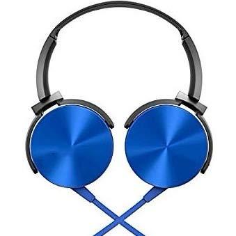 Fone De Ouvido Headphone Fone Ouvido Extra Bass Azul