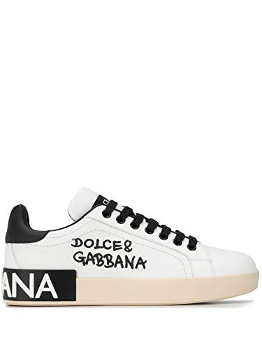DOLCE E GABBANA Luxury Fashion Damen CK1544AW710HWF57 Weiss Leder Sneakers | Herbst Winter 20