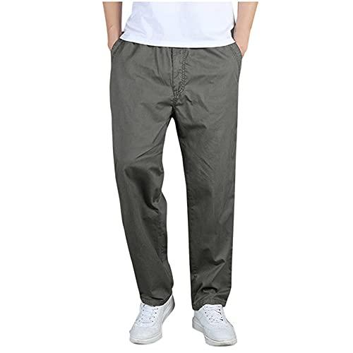 N\P Pantalones casuales de los hombres pantalones sueltos pantalones masculinos pantalones de chándal para hombre