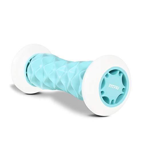Fitfiu Fitness Foot-Pat - Rullo Massaggio Piedi Blu, Massaggiatore Muscolare, Fascite Plantare Rilassante Alleviare Il Dolore