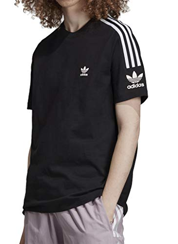 adidas Tech Tee T-Shirt Homme Black FR: M (Taille Fabricant: M)